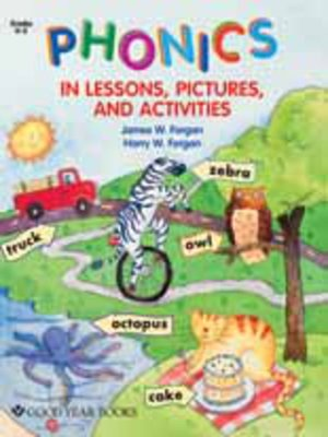 cover image of Phonics in Lessons, Pictures, and Activities