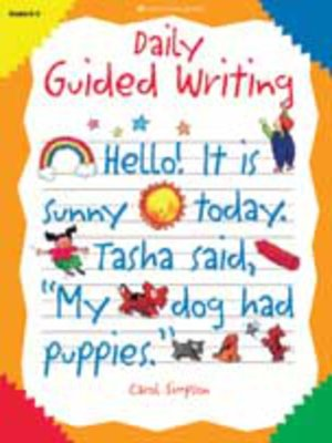 cover image of Daily Guided Writing