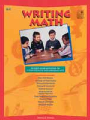 cover image of Writing Math
