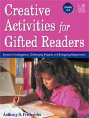 cover image of Creative Activities for Gifted Readers