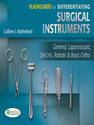 Flashcards for Differentiating Surgical Instruments by