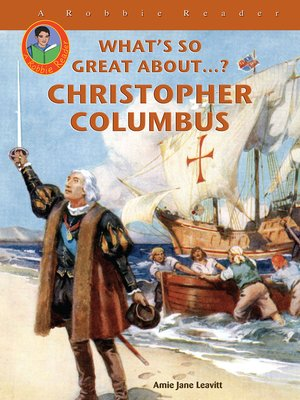 a biography of christopher columbus and a history of his accomplishments In his biography of christopher columbus washington irving: biography/history: tales of the alhambra: 1832 the author of the sketch book short stories/travel.