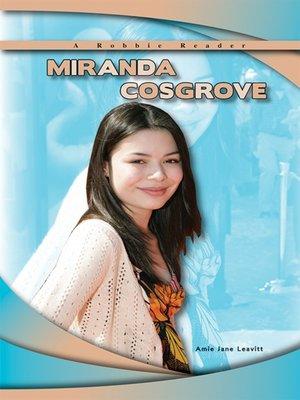 cover image of Miranda Cosgrove
