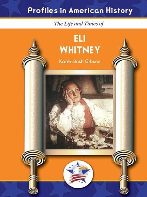 cover image of Eli Whitney