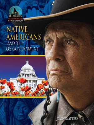 cover image of Native Americans and the US Government