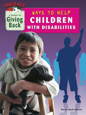 cover image of Ways to Help Children With Disabilities