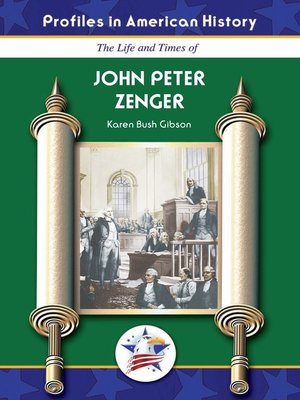 cover image of John Peter Zenger