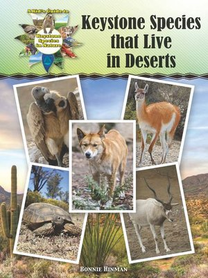 Keystone species that live in deserts by bonnie hinman overdrive cover image fandeluxe Gallery