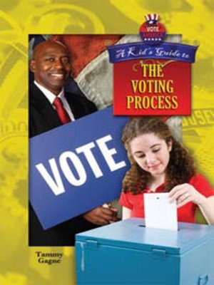 cover image of A Kid's Guide to the Voting Process