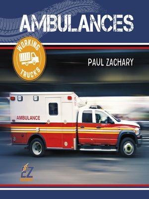 cover image of Ambulances