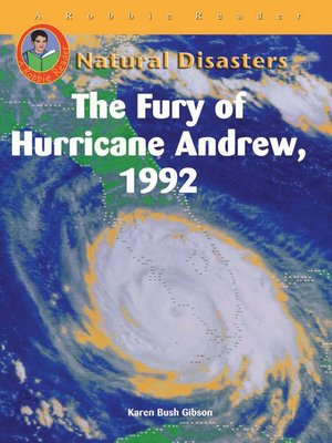 cover image of The Fury of Hurricane Andrew