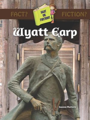 cover image of Wyatt Earp