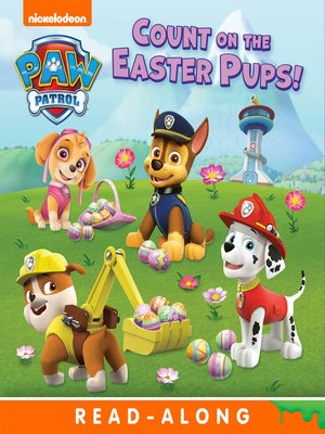 cover image of Count on the Easter Pups