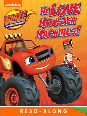 cover image of We Love Monster Machines!