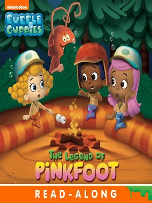cover image of The Legend of Pinkfoot (Nickelodeon Read-Along)