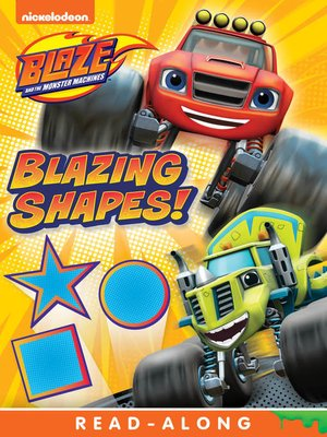 cover image of Blazing Shapes!