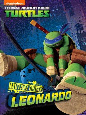 cover image of Mutant Origins: Leonardo