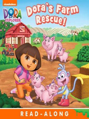 cover image of Dora's Farm Rescue (Nickelodeon Read-Along)