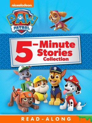 cover image of PAW Patrol 5-Minute Stories Collection