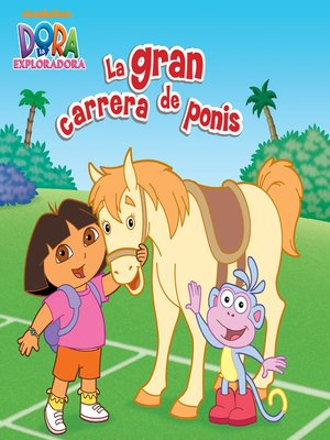 cover image of La gran carrera de ponis
