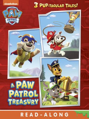 cover image of A PAW Patrol Treasury