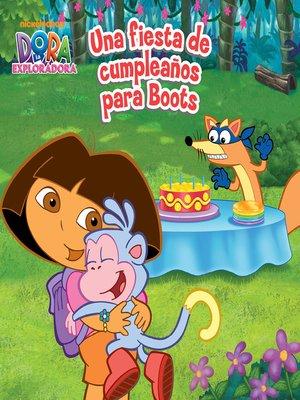cover image of Una fiesta de cumpleaños para Boots