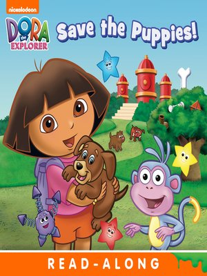 cover image of Dora Saves the Puppies