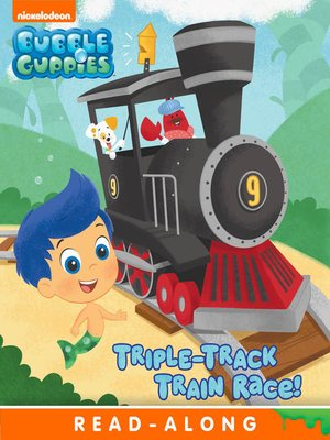 cover image of Triple-Track Train Race!