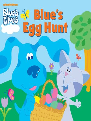 cover image of Blue's Egg Hunt