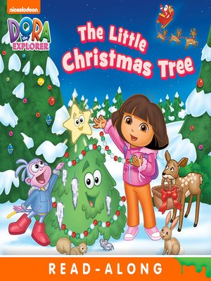 cover image of The Little Christmas Tree (Nickelodeon Read-Along)