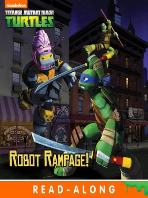 cover image of Robot Rampage (8x8 Storybook Version)