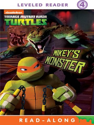 cover image of Mikey's Monster