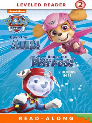 cover image of Up in the Air!/Under the Waves!