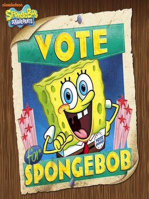 cover image of Vote for Spongebob