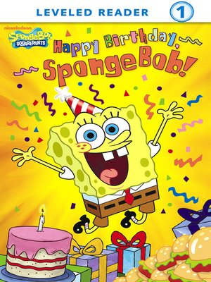 cover image of Happy Birthday, SpongeBob!