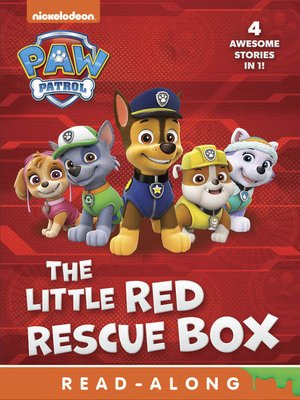 cover image of The Little Red Rescue Box