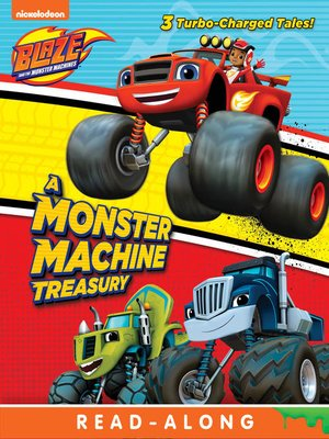 cover image of A Monster Machine Treasury
