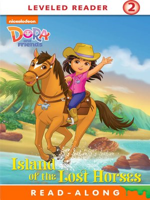 cover image of Island of the Lost Horses (Nickelodeon Read-Along)