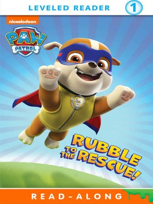 cover image of Rubble to the Rescue