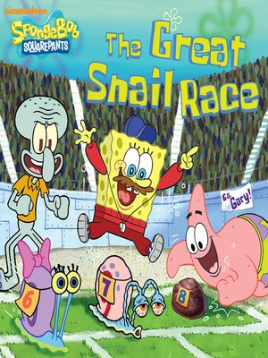 cover image of The Great Snail Race