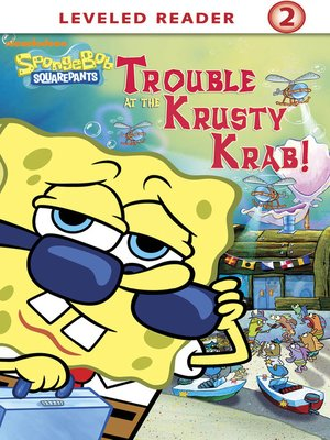 cover image of Trouble at the Krusty Krab