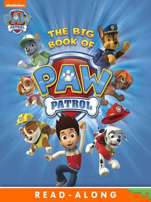 cover image of The Big Book of PAW Patrol