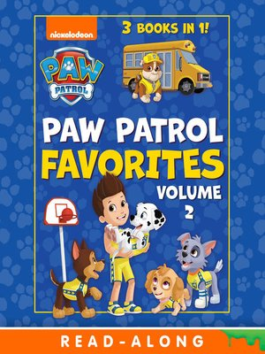 cover image of PAW Patrol Favorites, Volume 2