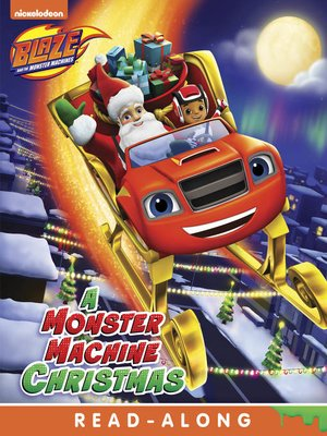 cover image of A Monster Machine Christmas