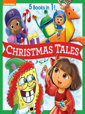 cover image of Nickelodeon Christmas Tales