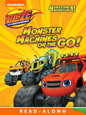 cover image of Monster Machines on the Go!