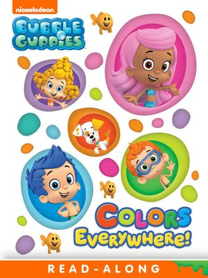 cover image of Colors Everywhere! (Nickelodeon Read-Along)