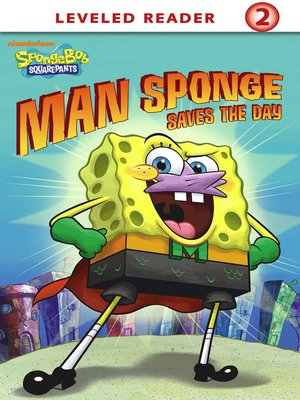 cover image of Man Sponge Saves the Day