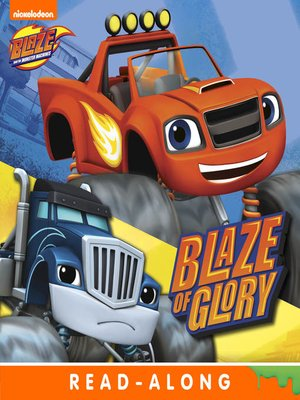 cover image of Blaze of Glory (Nickelodeon Read-Along)