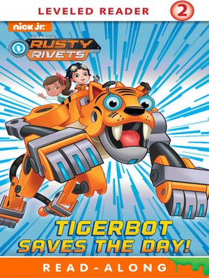 cover image of Tigerbot Saves the Day!